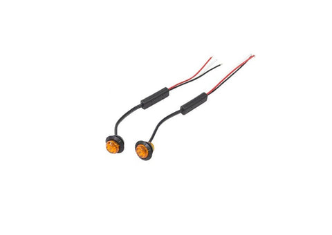 Amber 3/4 InchCombination Auxiliary Turn Lights JCR Offroad