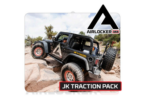 ARB Air Locker Traction Package: 2007 & Newer Jeep JK Non-Rubicon