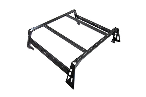 Victory 4x4: Mid Size Truck Modular Bed Rack Base Half Bed 5.5 Foot Powdercoat Victory 4x4
