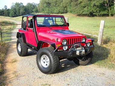 Hyline Offroad: Louvered Hood Panel Jeep TJ (97-06)