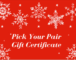Pick Your Pair Gift Card