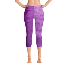 Purple Dead Sea Capri Britches