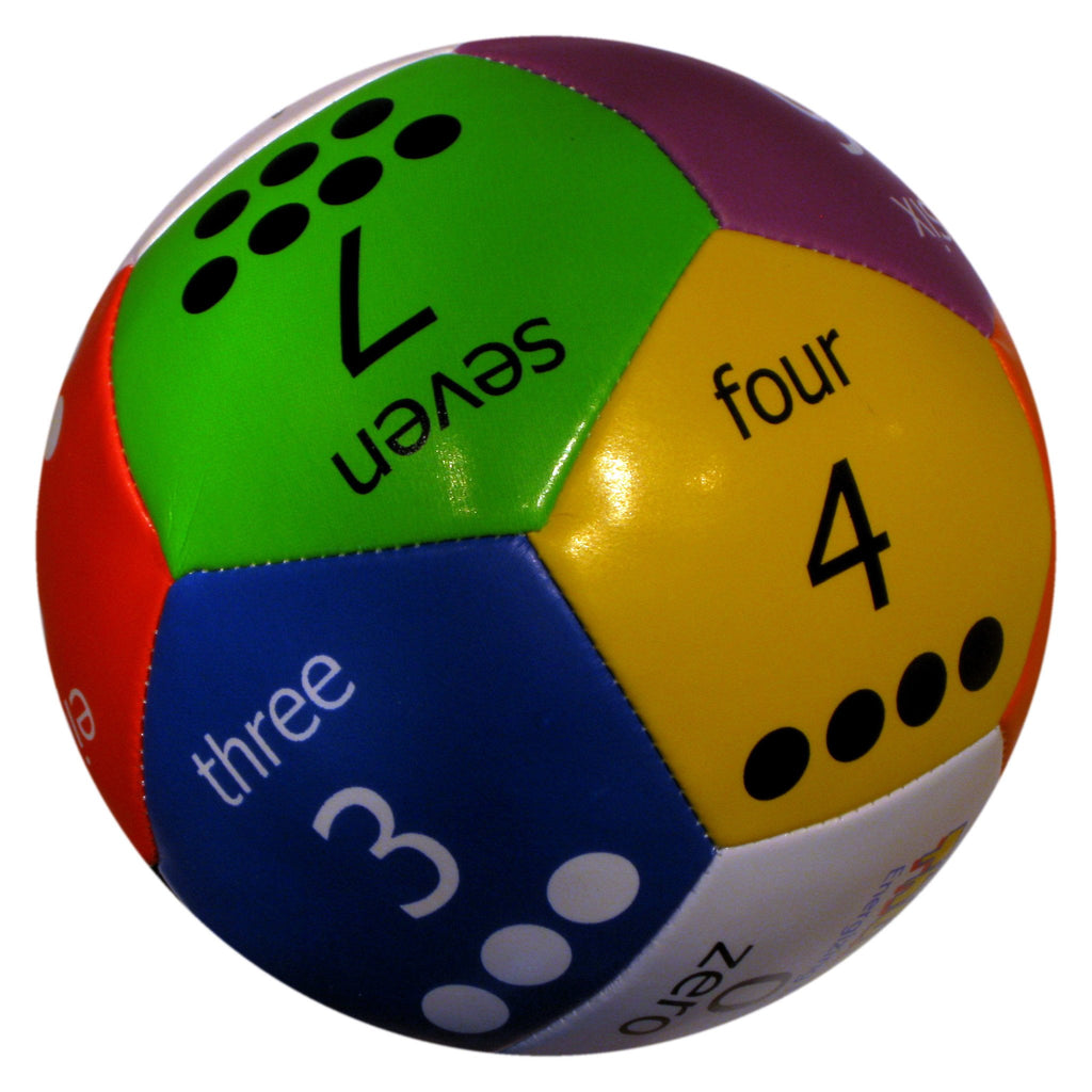 "Numbers (4"" or 6"") Thumball for Learning Numbers and Math"