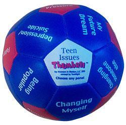 "Teen Issues Thumball (4"") for Exploring Teen Related Challenges"