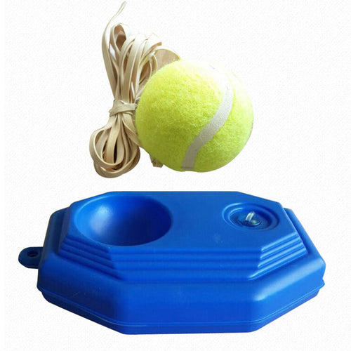 Tennis Training Rebound Ball Exerciser Tennis Ball Tennis Trainer Baseboard Hitting Device