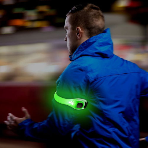 Outdoor Running Cycling Reflective Light LED Armband Lamp Safety Belt Arm Strap Light Running Light