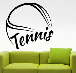 Tennis Wall Sticker Tennis Wall Decals; Tennis Mural Home Bedroom Art Decor  Wall Decals /