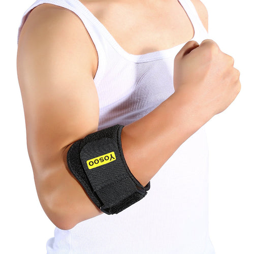 Tennis Elbow Strap Support Brace Arm Brace Support Elbow Band Wrap for Joint Pain Relief Elbow Protector Forearm Guard for Tennis Golf