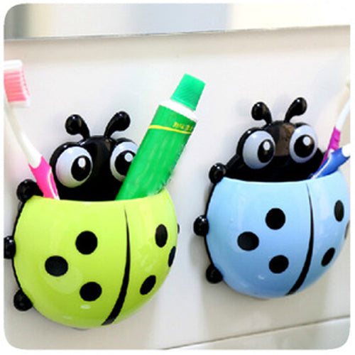 Bathroom Animal Toothbrush Holder Wall Suction Toothpaste Suction Holder