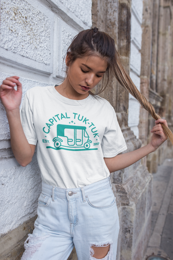 Capital Tuk-Tuk Custom Boyfriend T-Shirt (Unisex)