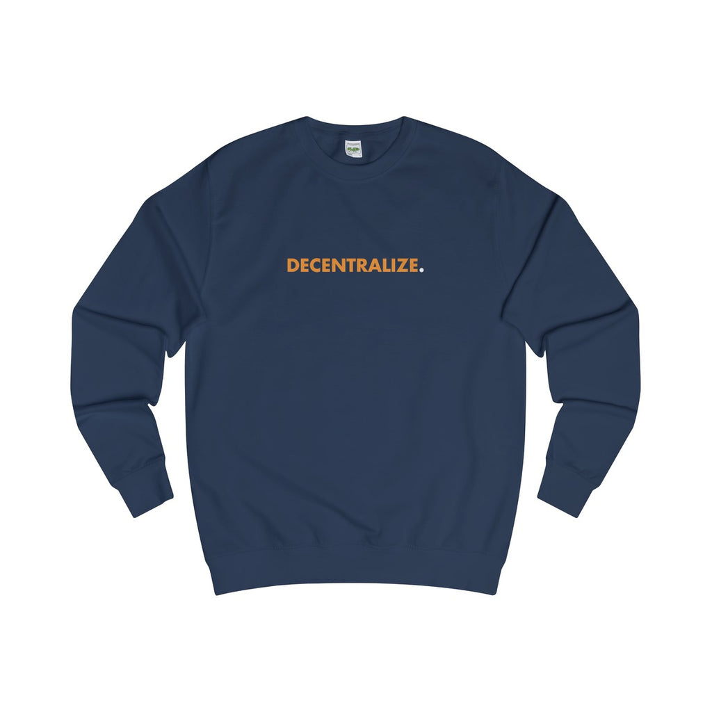 Sweater | Decentralize - Oxford Navy - Cryppify