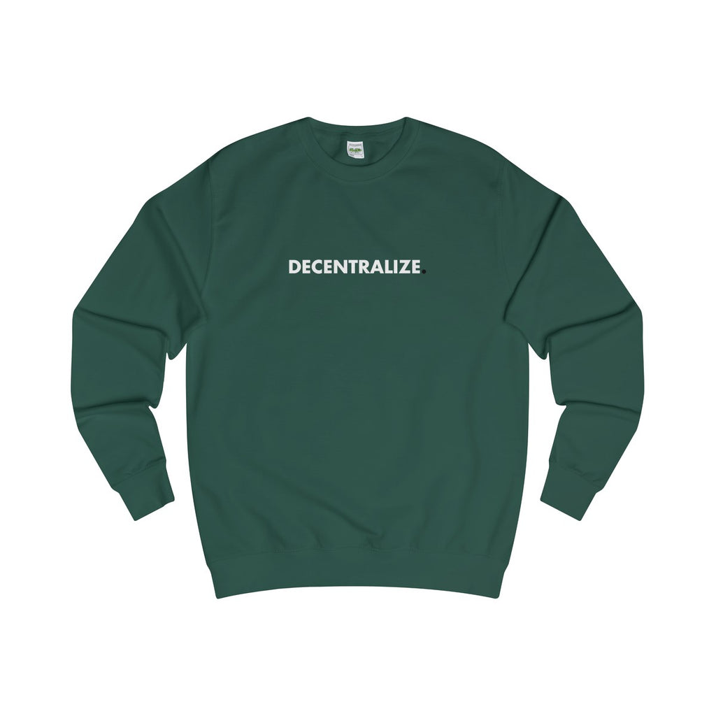 Sweater | Decentralize - Bottle Green - Cryppify