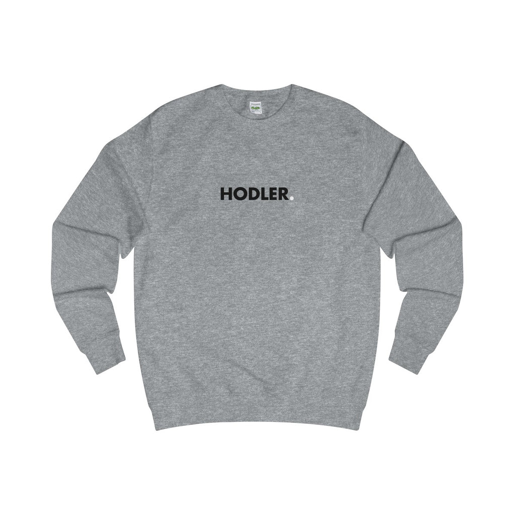 Sweater | Hodler - Heather Grey - Cryppify