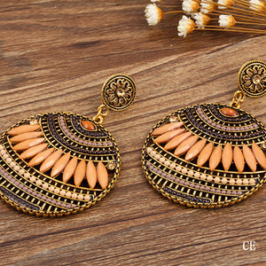 Very Heavy Colorful Ethnic Joker Indian Earrings