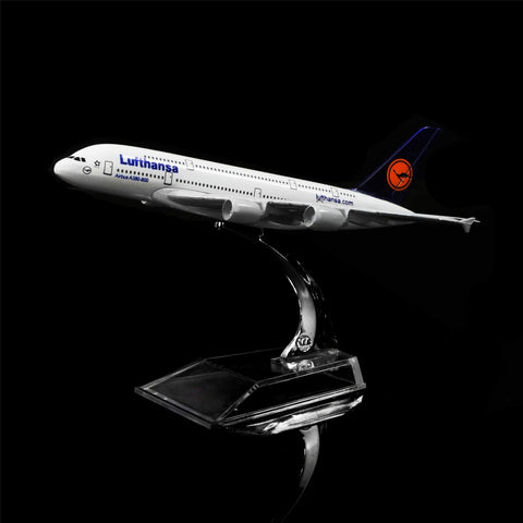 Lufthansa Airbus A380 Metal Airplane Model - THE R/C LOUNGE