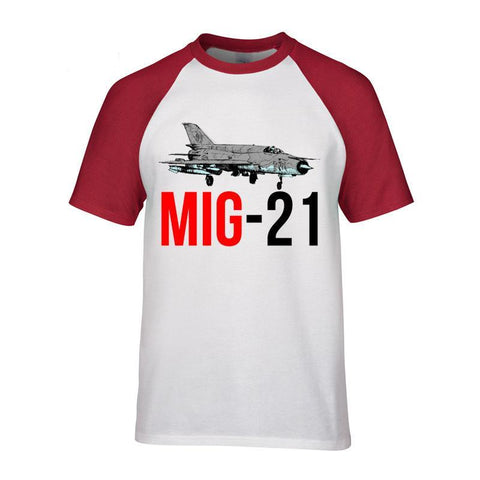 """MIG 21"" Jet Air Plane Graphic Tee - THE R/C LOUNGE"