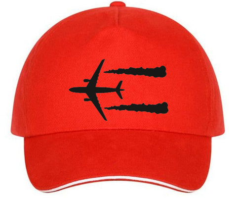 Airplane Print Cap - THE R/C LOUNGE