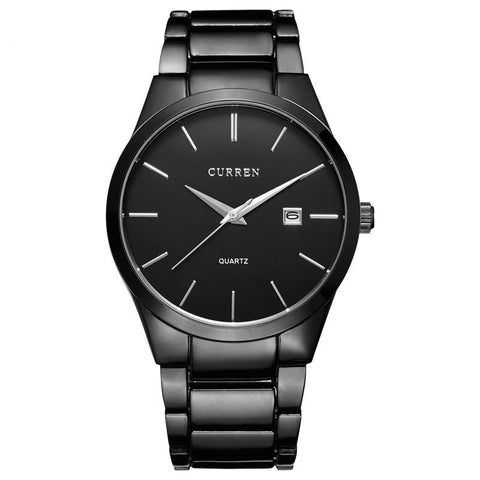 Curren Steel Analog Men's Wristwatch - THE R/C LOUNGE