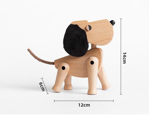 Wooden Dog - Inspired by Hans Bolling