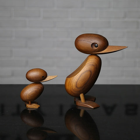 Mama Duck & Duckling - Inspired by Hans Bolling