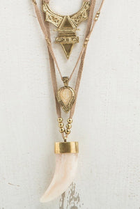 Gold Boho Necklace