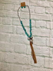 Bullhead Turquoise Necklace