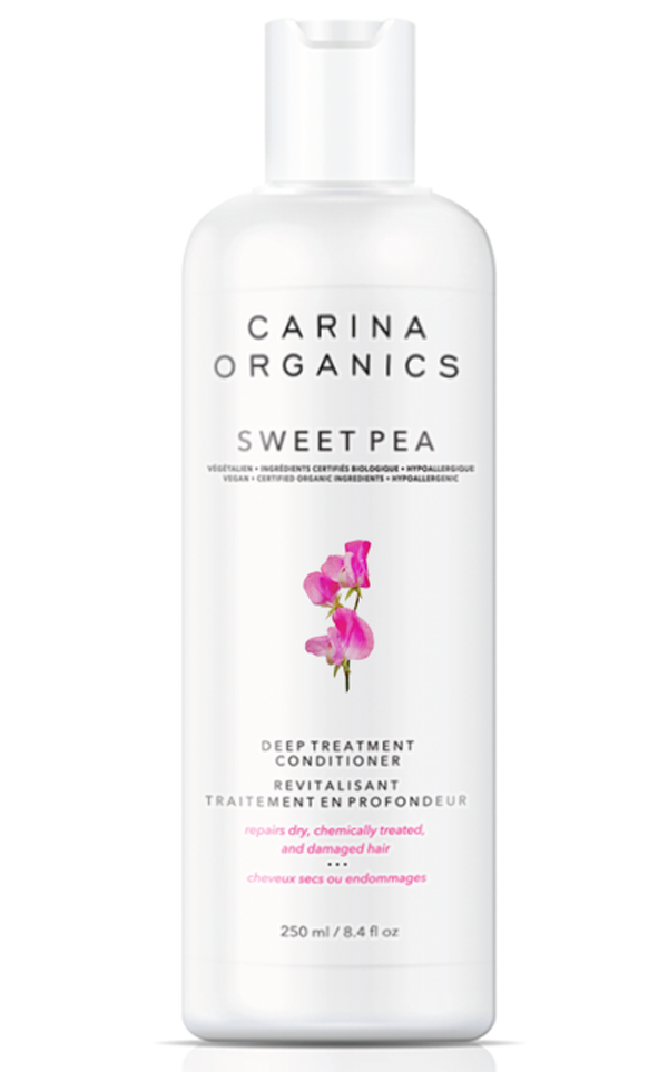Carina Organics Sweet Pea Deep Conditioner, 250 ml