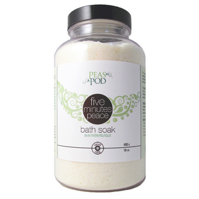 Peas In A Pod, Five Minutes Peace Bath Soak, 450 g