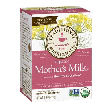 Traditional Organic Mother's Milk Tea, 20 bags