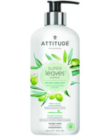 Attitude Olive Leaves Hand Soap, 473 ml