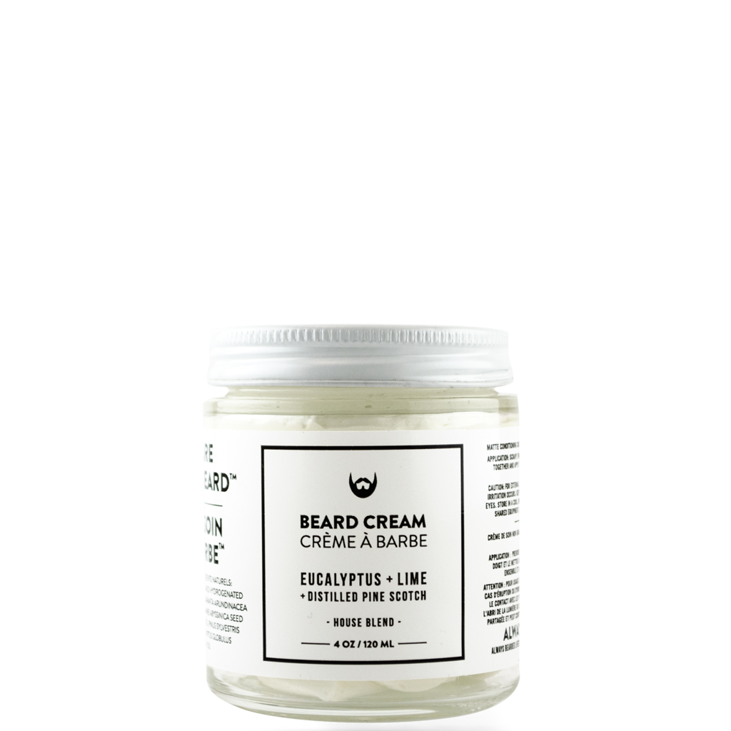 Beard Cream: Eucalyptus + Lime With Distilled Pine Scotch Needle, 120 ml