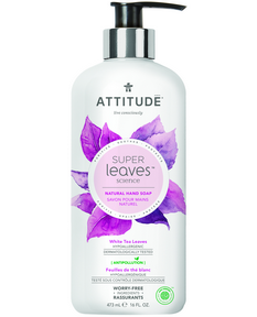 Attitude White Tea Leaves Hand Soap, 473 ml