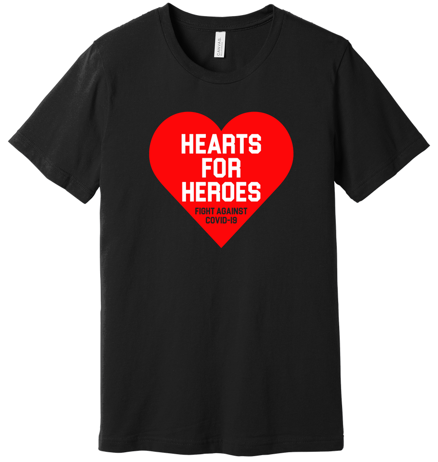 Hearts for Heroes T-shirt