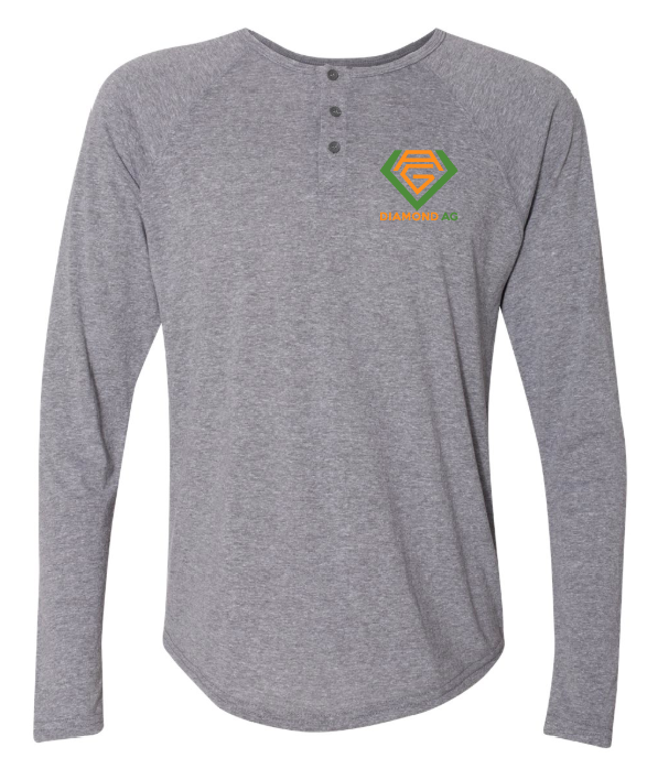 Next Level - Triblend Long Sleeve Henley - 6072