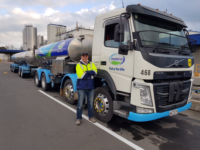 TRUCK DRIVER HERO PRAISED ON THE PROJECT