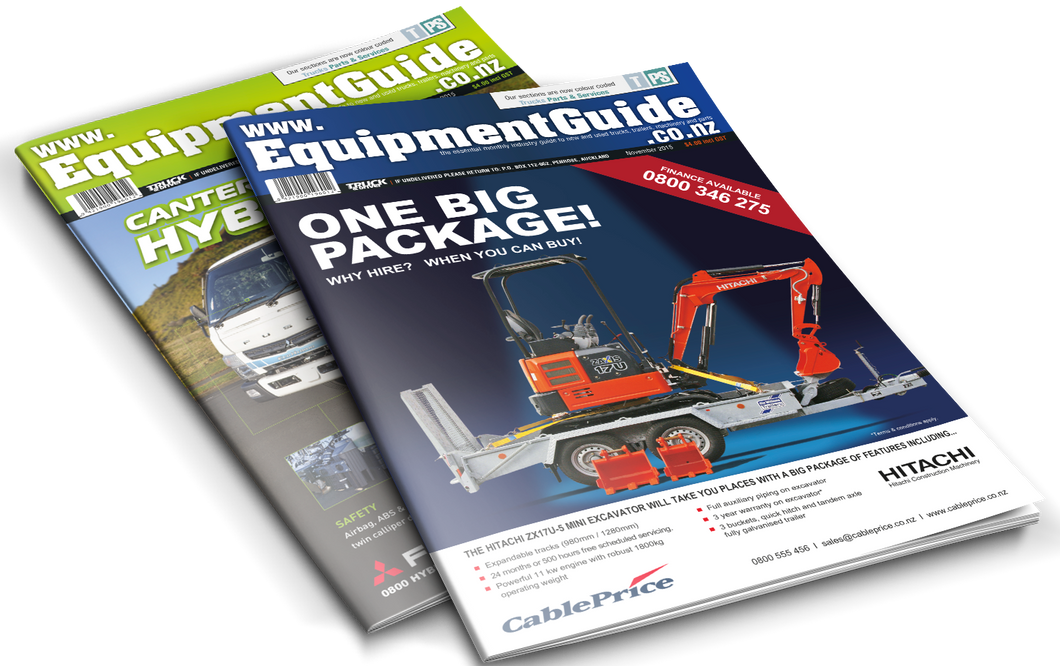 Equipment Guide Magazine 2015 Back Issues - Allied Publications Ltd