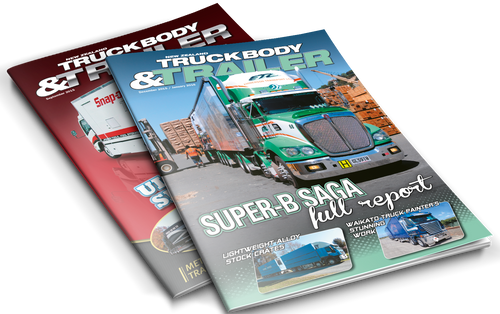 NZ TruckBody & Trailer Magazine 2015 Back Issues - Allied Publications Ltd