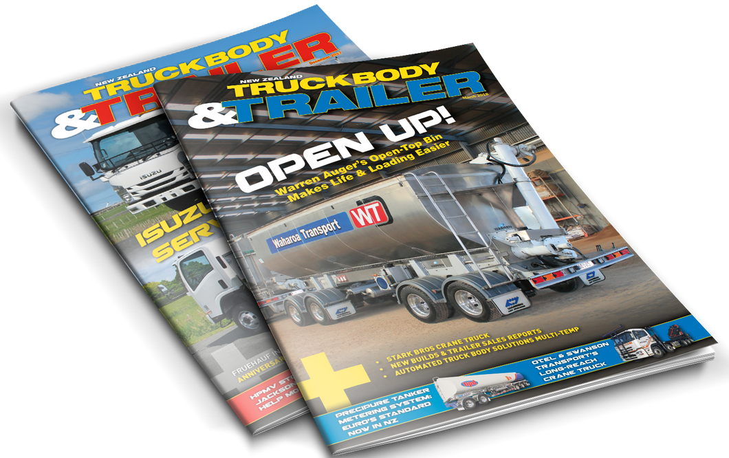 NZ TruckBody & Trailer Magazine 2018 Back Issues - Allied Publications Ltd