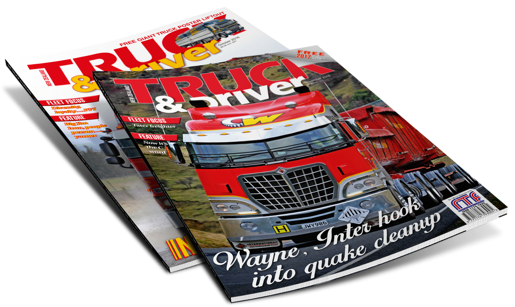 NZ Truck & Driver 2016 Back Issues - Allied Publications Ltd