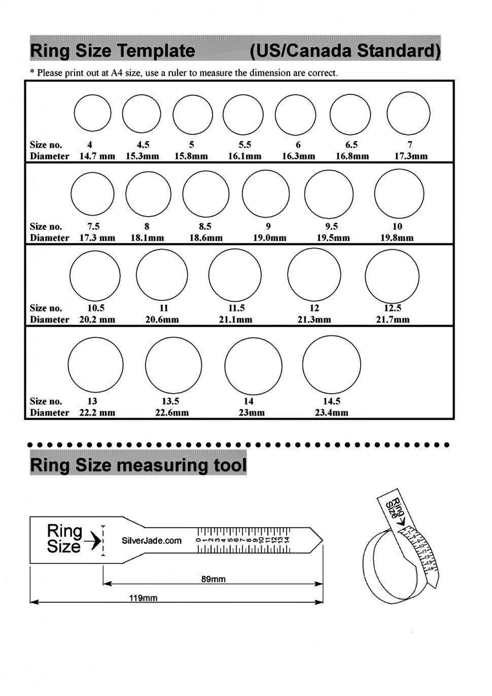 Free ring size chart choice image free any chart examples ring size chart online ruler choice image free any chart examples ring size chart online ruler nvjuhfo Choice Image