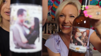How to Make Your Own Custom Wine Labels!