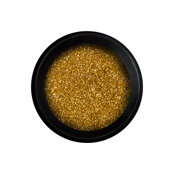 Perfect Pixie Glitter - Golden Shine | Nail Art