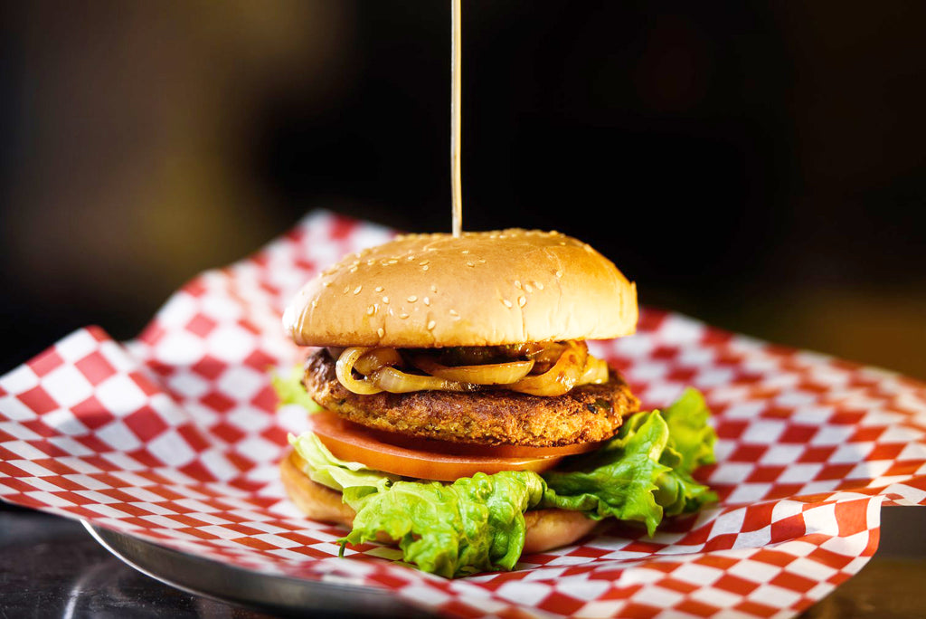 Spicy Chicken Burger with Shivani's Vindaloo Masala Spice