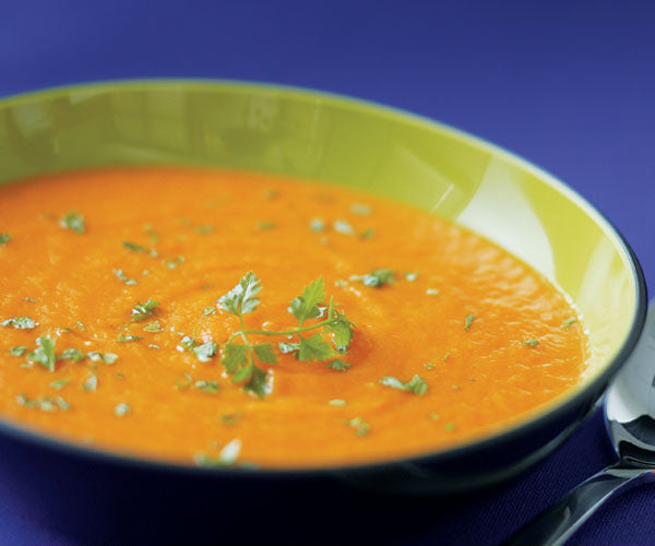 Carrot Soup (vegan and GF)
