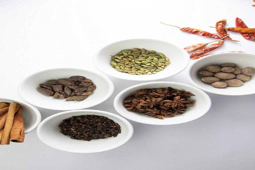 Shivani's Kitchen's whole spice and spice blends