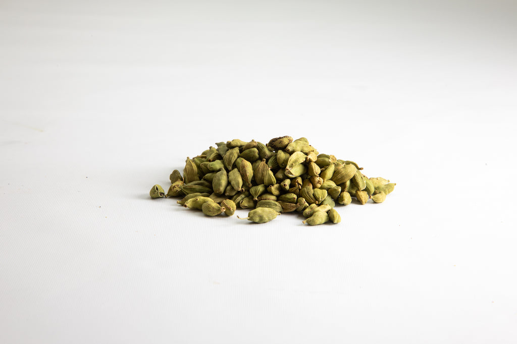 Green Cardamom pods sold by Shivani's Kitchen