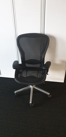Aeron Task Chair Size C with Lumbar - Milton Keynes