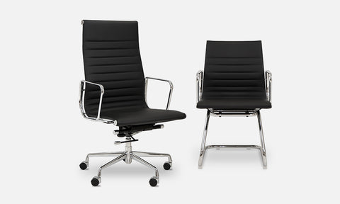 Elite Enna High Quality High Back Leather Office Chair LAST ONE