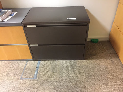 HERMAN MILLER LOW LEVEL STORAGE UNITS - MERIDIAN DRAWER UNITS