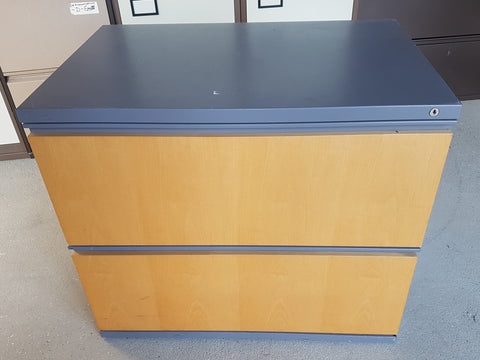 Low Level Two Drawer Hanging File Cabinet